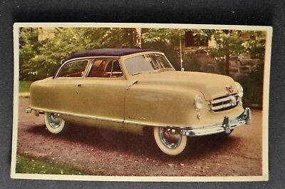 1951 Nash Rambler Postcard Brochure Excellent Original 51