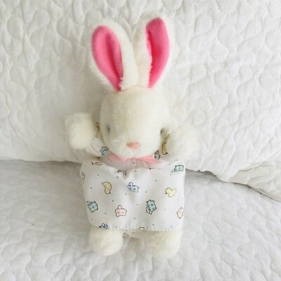 1608bb4cfa23 VTG CARTER S BABY Bunny Thermal Waffle Knit Cotton Swaddle Blanket ...