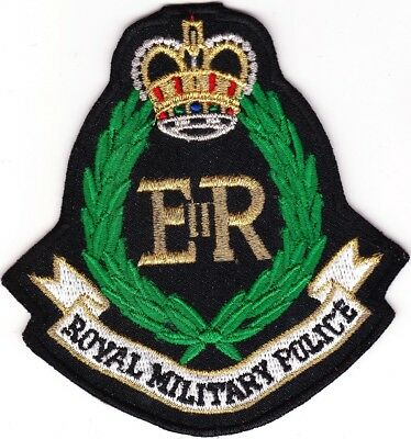 Royal Military Police ER United Kingdom patch NEW
