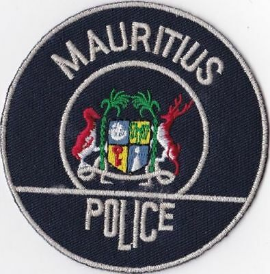 Mauritius Police Patch International patch   new