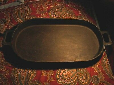 Vintage BSR Cast Iron #3052 C Oval Fish Fry Pan Antique Skillet Best price Ebay!