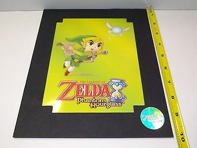 The Legend of Zelda Phantom Hourglass Limited Edition Cel Art w/ COA Nintendo