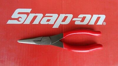 """NEW Snap On Tools 8"""" Long Needle Nose Pliers 96CF   NEW   Ships Free"""