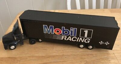 Mobil 1 RacingToy Race Car Carrier second limted edition collectors truck
