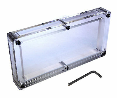 Acrylic BEP pack 100 Bank Note Currency Display Dollar Case Frame Money Holder