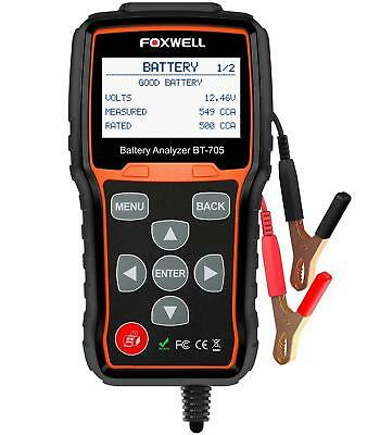 12V 24V Car Cranking Charging System Test Scan Tool Digital Battery Analyzer NEW