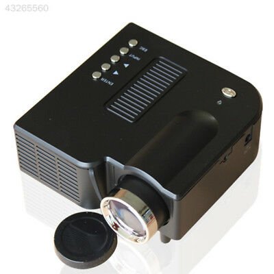 Mini Home Theater LED LCD Projector HD 1080P AV SD VGA USB HDMI +Remote EU