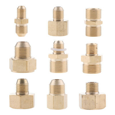 Metric Hose Fitting Connector for High Pressure Washer Gun and Hose Brass