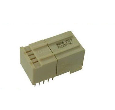 5X New No.06M2538 Fci 89096-102Lf Backplane Connector, Receptacle, 10 Position