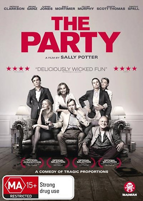 Party, The (DVD, 2018) (Region 4) New Release