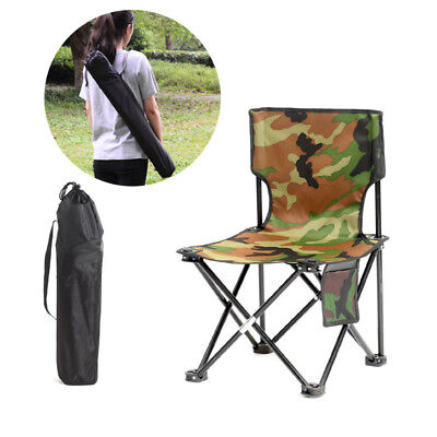 Lightweight Portable Folding Camping Fishing Chair Outdoor Travel Foldable Seat