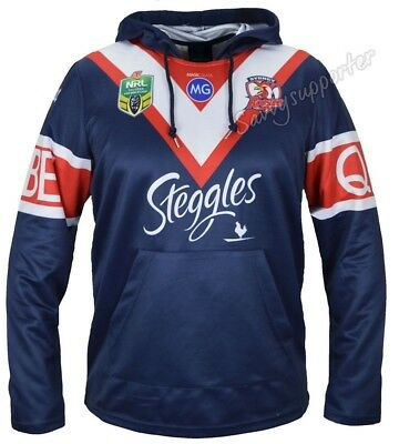 Sydney Roosters 2017 NRL Jersey Hoodie Adults and Kids Sizes BNWT Hoody