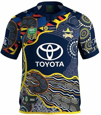 North Queensland Cowboys 2017 NRL Indigenous Jersey Adults & Kids Sizes BNWT