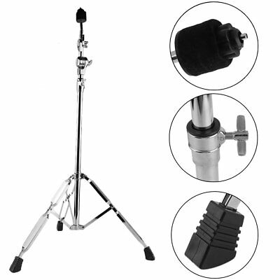 New Cymbal Boom Stands Drum Hardware Percussion Double Braced Tripod Holder