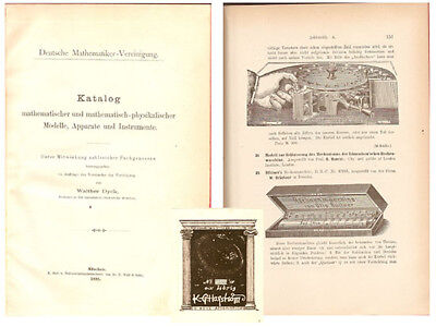 COLLECTION CATALOGUE: Earliest exhibition catalog limited to calculating devices