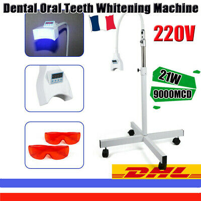 Dental Teeth withening Lampe LED blanchiment dentaire Dents Blanche 9000MCD 21W