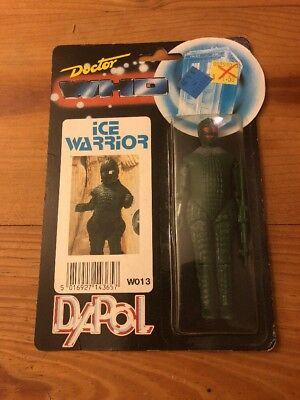 Vintage Doctor Who Ice Warrior DAPOL 1987