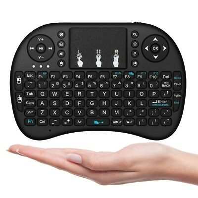 i8 Mini 24GHz Wireless Remote Air Mouse Keyboard for PC & Android TV Box  Pop