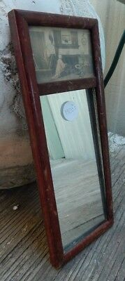 Antique Mirror From 1920 Circa-Fred Thompson-Oddities