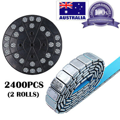 2400pcs 5g Steel (Fe) Stick-On Wheel Balance Weights for Car Truck Motorcycle