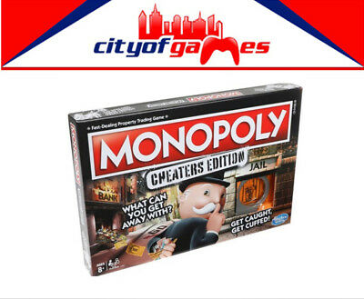 Monopoly Cheaters Edition Board Game Brand New