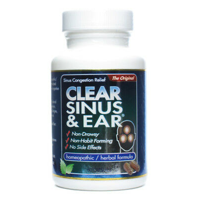 CLEAR PRODUCTS - Clear Sinus  Ear Anti-Inflammatory Effect - 60 Capsules