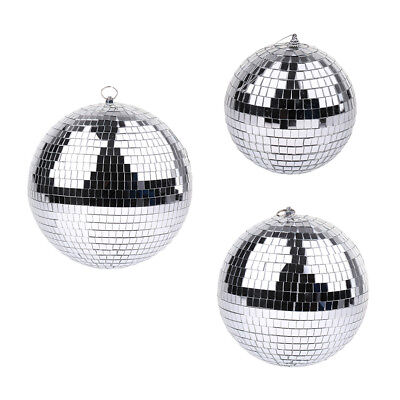 Reflection Glass Mirror Disco Dance Party DJ Ball Stage Lighting