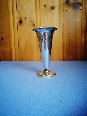 Norway 830s Silver Th. (Thorvald) Marthinsen c.1948 Vase Norwegian Antique