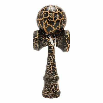 Full Crackle On Kendama Wooden Ball Education Traditional Game Toy W8U8