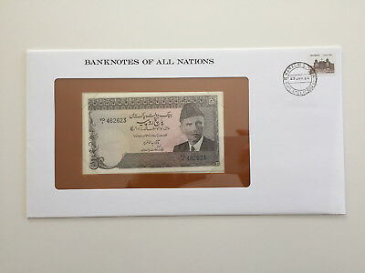 Banknotes of All Nations - Pakistan - 5 Rupee - UNC