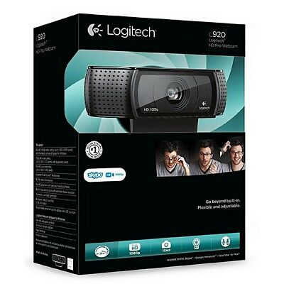 Logitech C920 HD Pro Webcam - New and Unopened