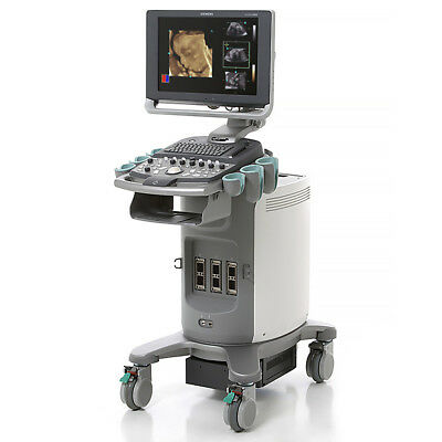 Siemens X300 PE Ultrasound System Acuson Machine (+) P5-1 Cardiac Probe