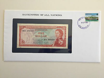Banknotes of All Nations – East Caribbean Currency Authority $1 UNC