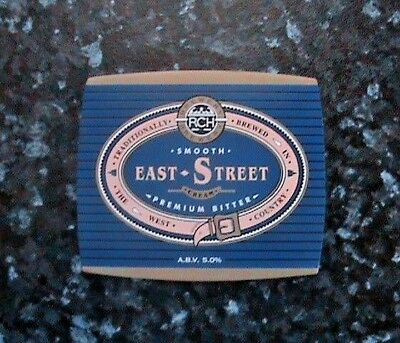 Rch East Street Cream Beer Pump Clip Sign