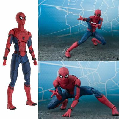 Figuarts Spider-Man Homecoming Spiderman Hero Action Figure Toy Gift Collectible