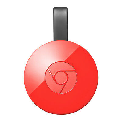Google Chromecast Video 2 Hdmi Streaming Video Media Player Rossa