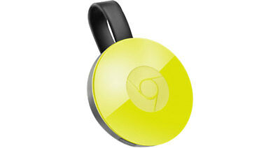 Google Chromecast Video 2 Hdmi Streaming Video Media Player Gialla