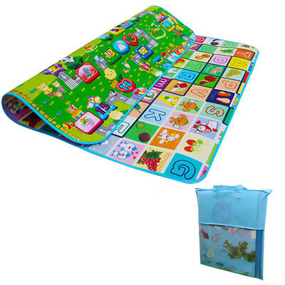 Cartoon Baby Crawling Educational Game Kid Children Play Mat Soft Foam Carpet