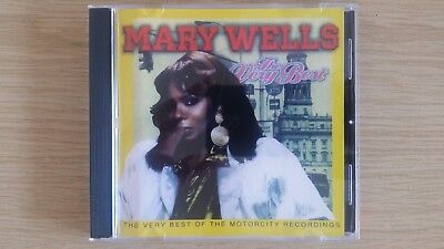 Mary Wells - The Very Best Of The Motorcity Recordings CD *