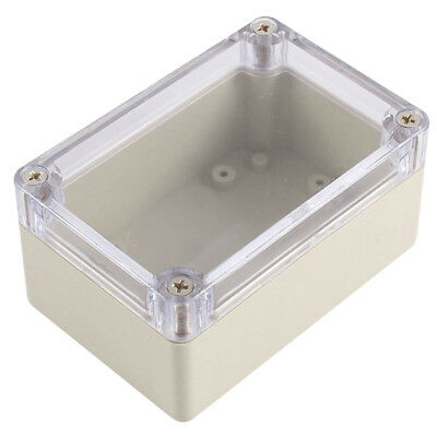 Clear Cover Plastic Electronic Project Junction Box 100 x 68 x 50mm W6I3