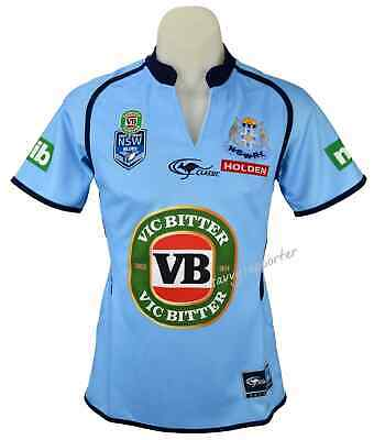 NSW Blues State of Origin NRL Ladies Jersey 'Select Size' 8-16 BNWT