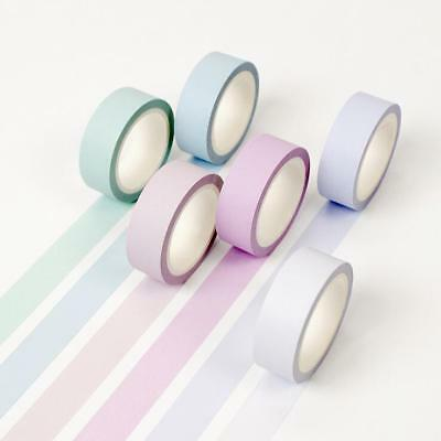 DIY Decorative washi paper tape Diary Album scrapbooking stickers Tape 15mmX8M
