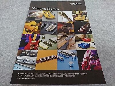 YAMAHA GUITARS 2018 General Catalog New F/S From Japan