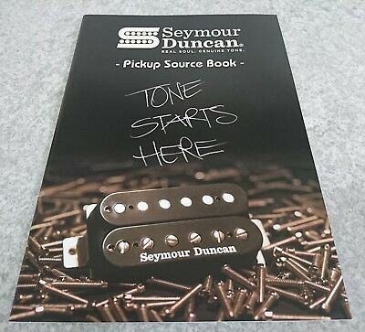 Seymour Duncan Piskup Source Book REAL SOUL GENUINE TONE New F/S From Japan