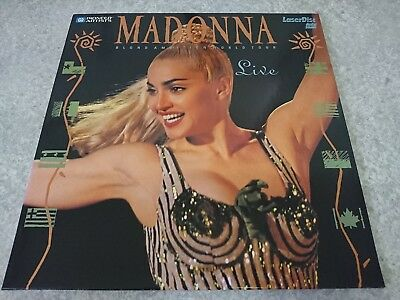 MADONNA BLOND AMBITION WORLD TOUR PA-90-325 Laserdisk LD From Japan