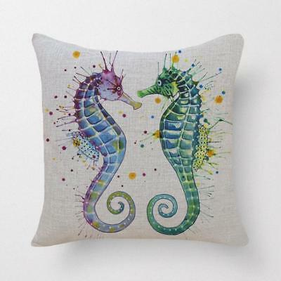 Printed Cushion Home Decorative Affordable Covers Cotton Linen Throw Pillow Case