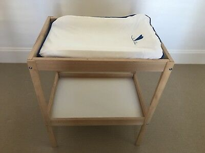 Baby Change Table In Pale Timber
