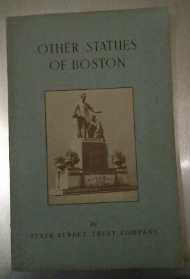 Other Statues Of Boston State Street Trust Company Pamphlet 1947