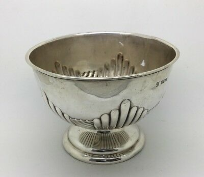 Victorian Sterling Silver Sugar Bowl Dated 1907-08