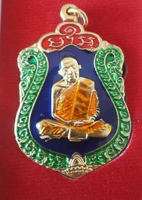 Thai Buddha Amulett LP Tim  Wat Laharnrai BE 2557